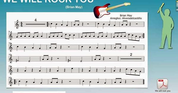 partituras de musica en wix