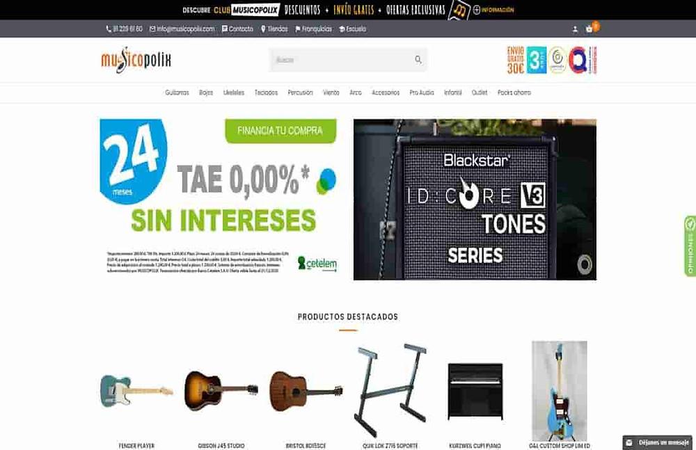 tiendas online de musica
