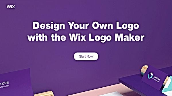 crear un logo gratis con wix