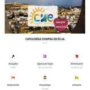 Apoyo al comercio local de Ecija