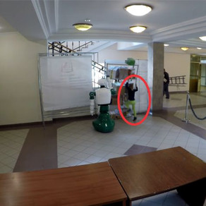 Robot evita un accidente fatídico de una niña