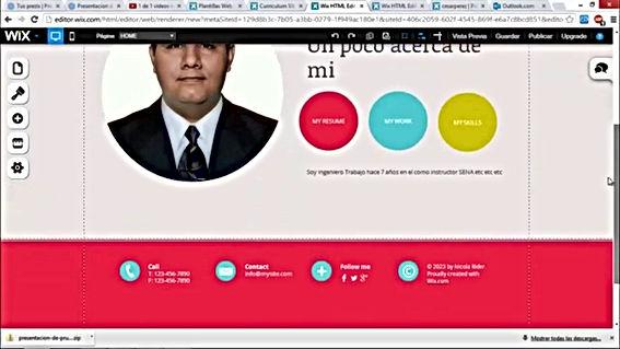 crear blog gratis con wix