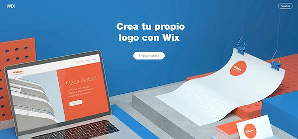 crear un logotipo gratis con wix
