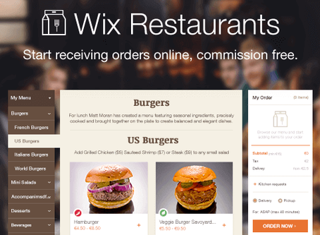 Ejemplos de páginas web creadas con Wix gratis