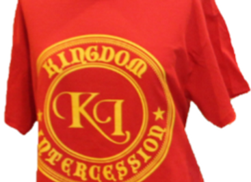Warfare Kingdom Intercession Red Tee Shirt