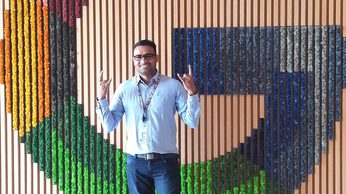 From GCEK to Google - Harshal Shewale