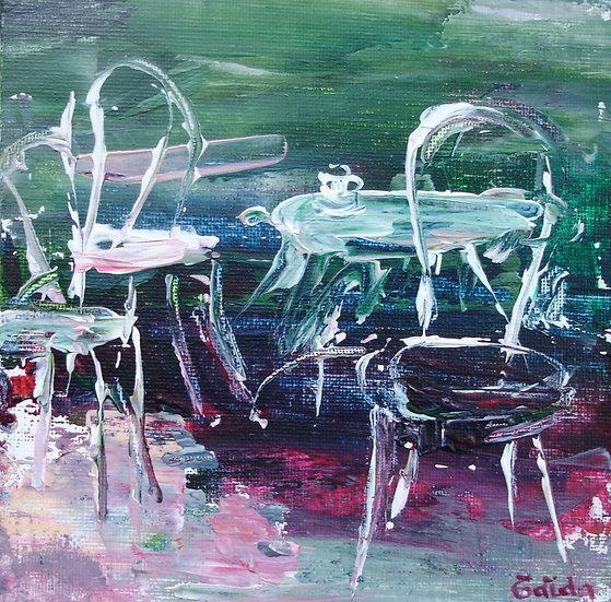 """""""Chaises de jardin"""" 15x15"""