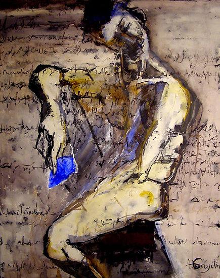 """""""La lettre""""  80x100"""