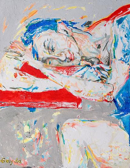 """""""La sieste"""" 70x90"""