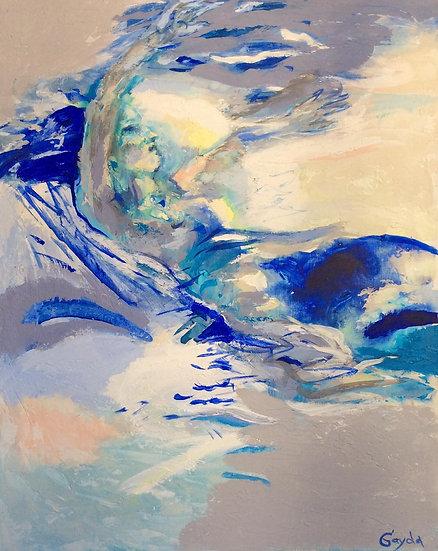 "SERIE ""L'EAU VIVE »  N 3, 73X93"