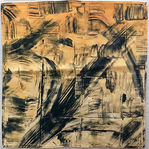 cristian-lanfranchi abstract contemporary art painting CARAMEL