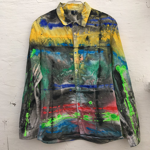 cristian-lanfranchi abstract contemporary art fashion TRNSFRD shirt #5