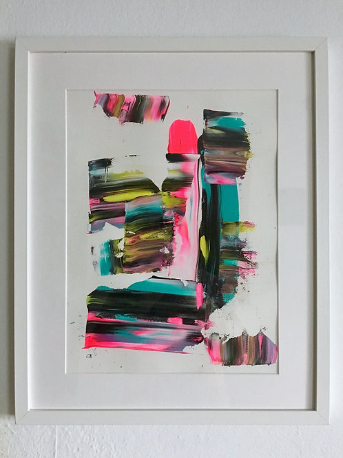 cristian-lanfranchi portrait abstract  art painting  Sorbet