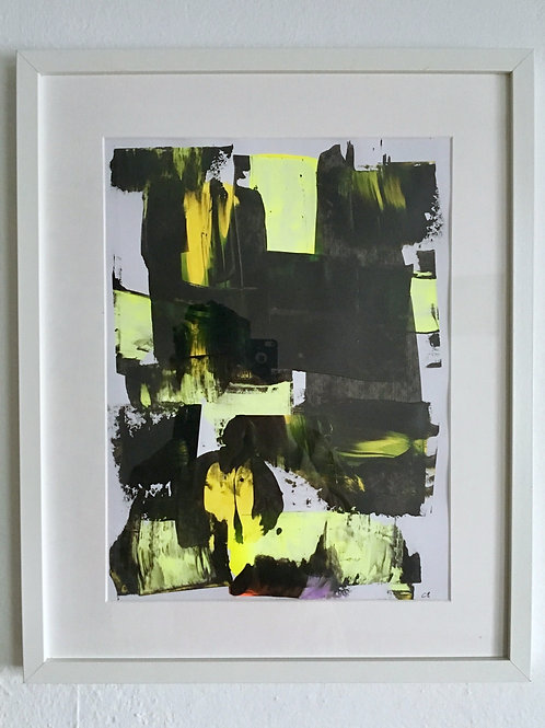 cristian-lanfranchi  abstract art painting Neon Gelb