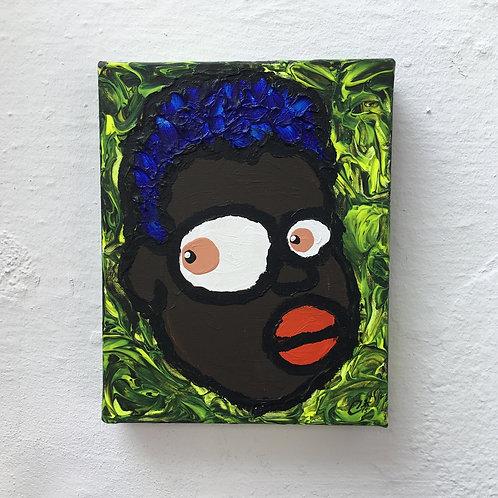 cristian-lanfranchi portrait pop art painting PeckhamPeople Janelle