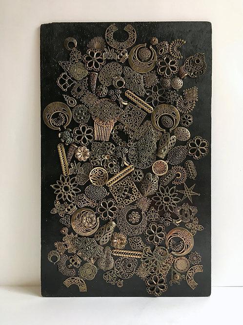 cristian-lanfranchi abstract contemporary art bijoux jewellery Precious Panel #7