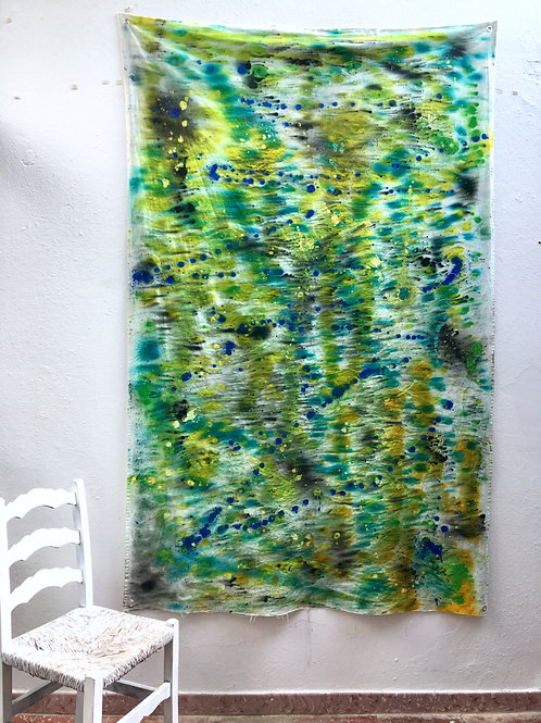 cristian-lanfranchi abstract art painting contemporary unstretched Dreep
