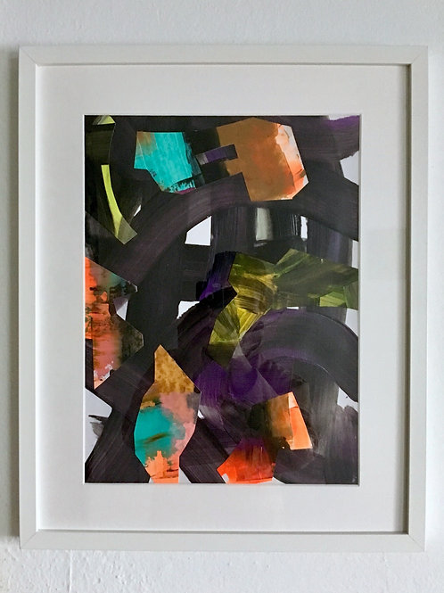 cristian-lanfranchi  abstract art painting collage CrazyCollage #2