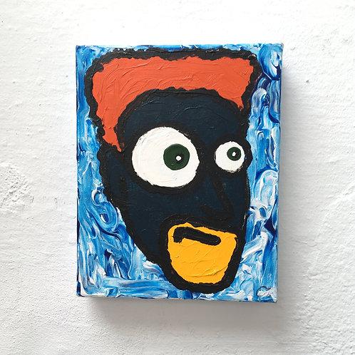cristian-lanfranchi portrait pop art painting PeckhamPeople Bruno