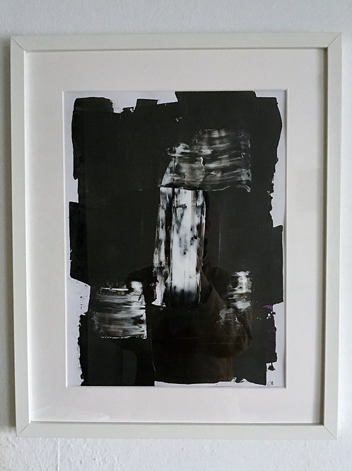 cristian-lanfranchi  abstract art painting SchwarzWeiss #1