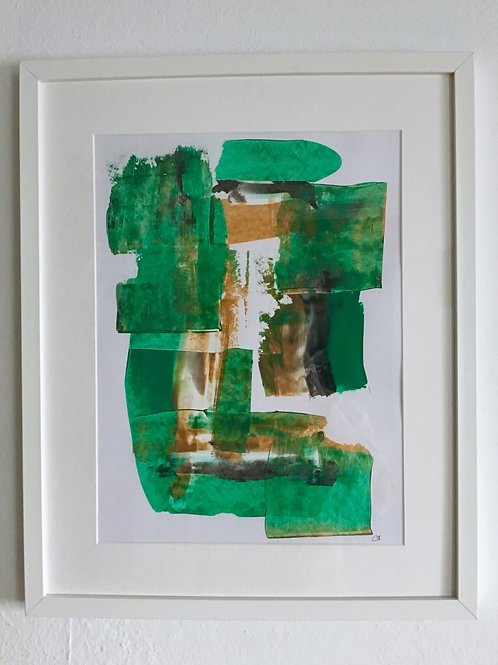 cristian-lanfranchi  abstract art painting Caramel Minz
