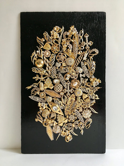 cristian-lanfranchi abstract contemporary art bijoux jewellery Precious Panel #4