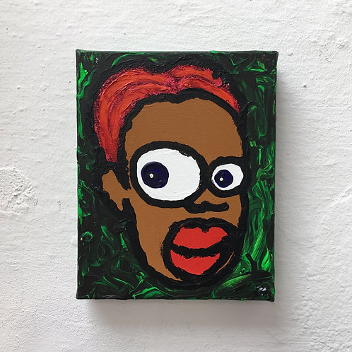cristian-lanfranchi portrait pop art painting PeckhamPeople Shanaya