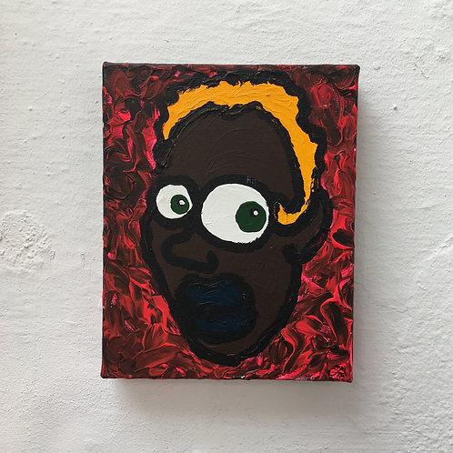 cristian-lanfranchi portrait pop art painting PeckhamPeople Meshelle