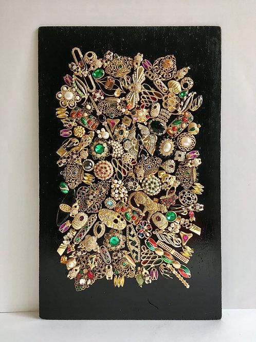 cristian-lanfranchi abstract contemporary art bijoux jewellery Precious Panel #3
