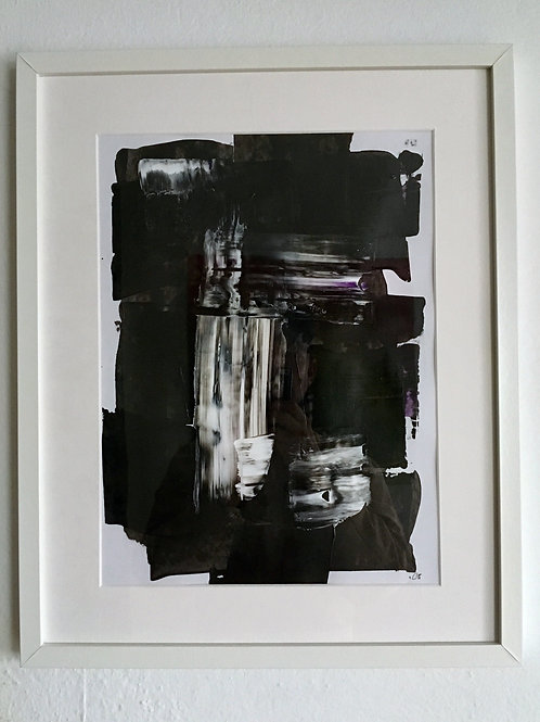 cristian-lanfranchi  abstract art painting SchwarzWeiss #2