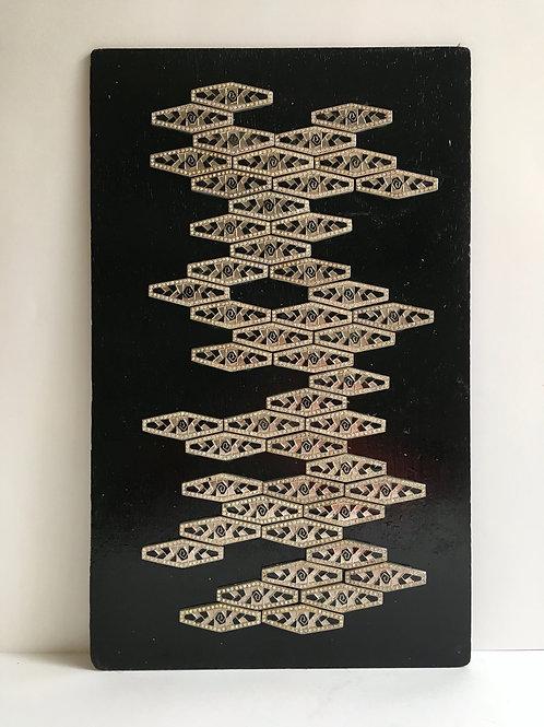 cristian-lanfranchi abstract contemporary art bijoux jewellery Precious Panel #5
