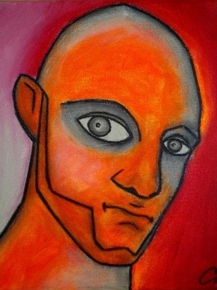 cristian-lanfranchi male portrait painting Mr JG