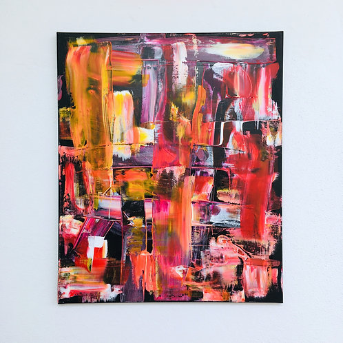 cristian-lanfranchi abstract art painting contemporary Groseille/Gourmet
