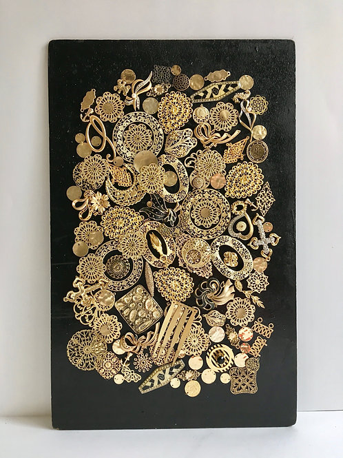 cristian-lanfranchi abstract contemporary art bijoux jewellery Precious Panel #8