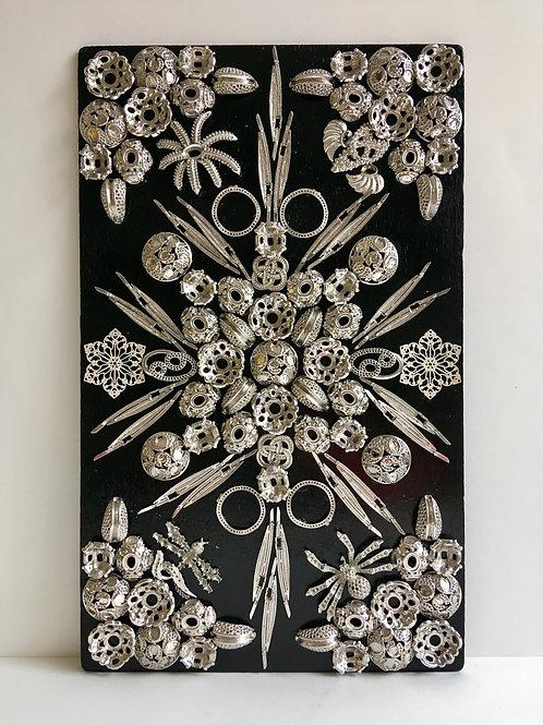 cristian-lanfranchi abstract contemporary art bijoux jewellery Precious Panel #2