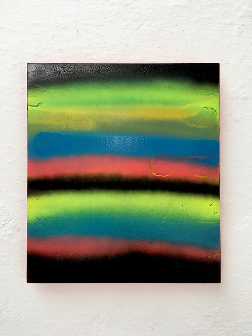 cristian-lanfranchi abstract art painting contemporary spray paint Holz 22
