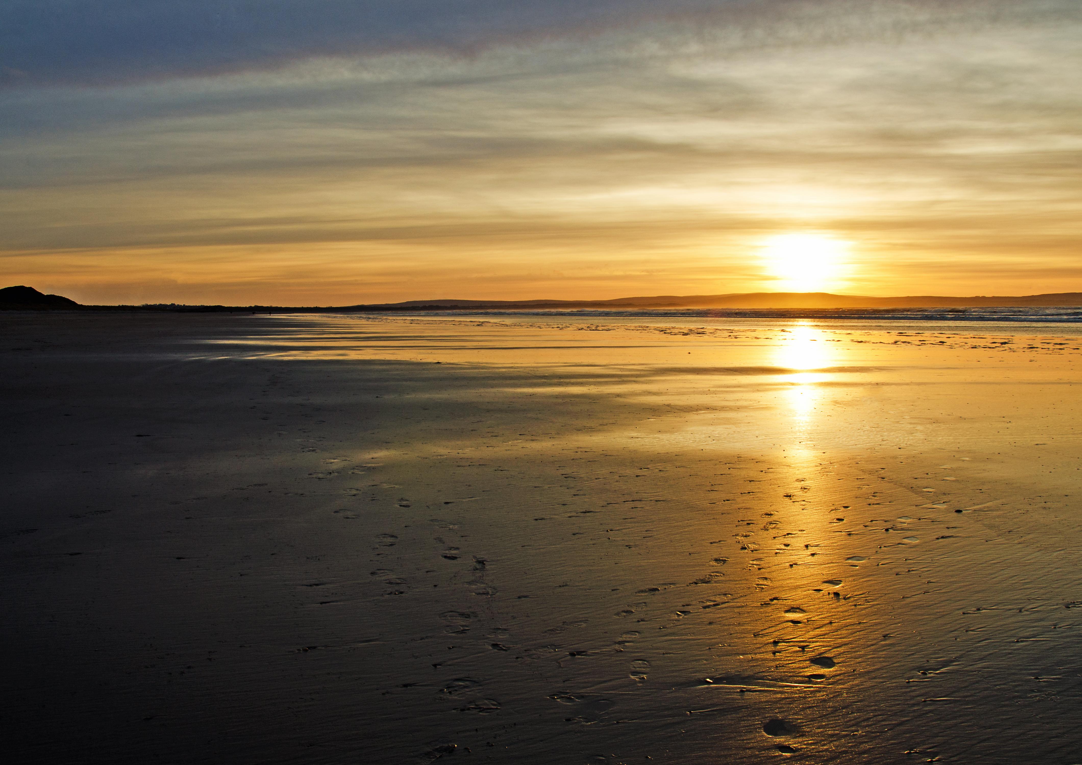 Enniscrone Beach Sunset