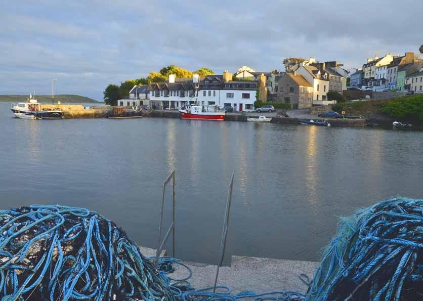 Roundstone Quay Nets