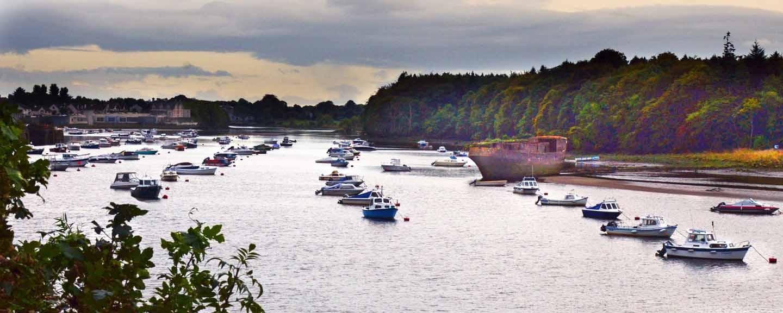 Ballina Quay Boats