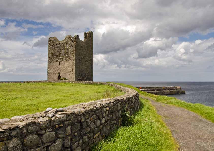 Easkey Castle
