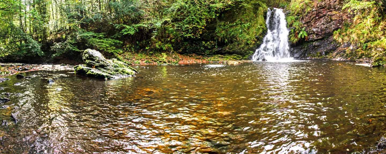 Tourmackeady Waterfall