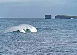 Dun Briste Wave