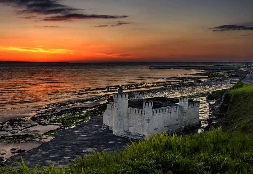Enniscrone Baths Sunset
