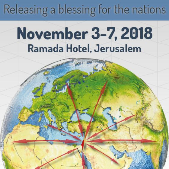 ICCC Conference - Jerusalem | Fulton & Cheryl will be Attending