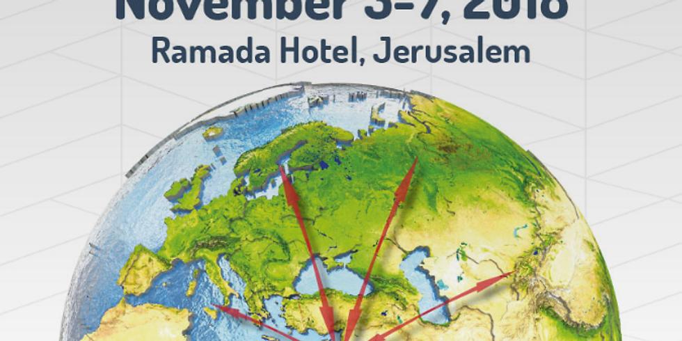 ICCC Conference - Jerusalem   Fulton & Cheryl will be Attending