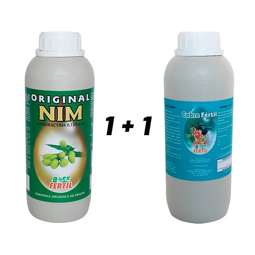 Kit Original Nim 1 Litro + Cobre Fértil 1 Litro.