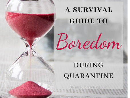 A Survival Guide to Boredom During Quarantine