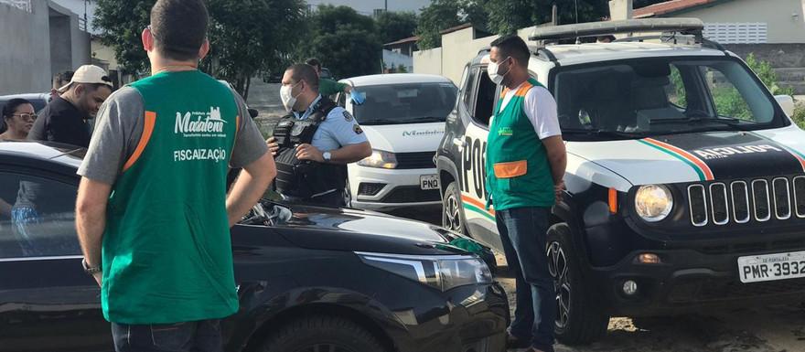 POLÍCIA MILITAR E SECRETARIA DE SAÚDE DE MADALENA REALIZAM RONDA EM SEMANA SANTA E GARANTEM DECRETOS