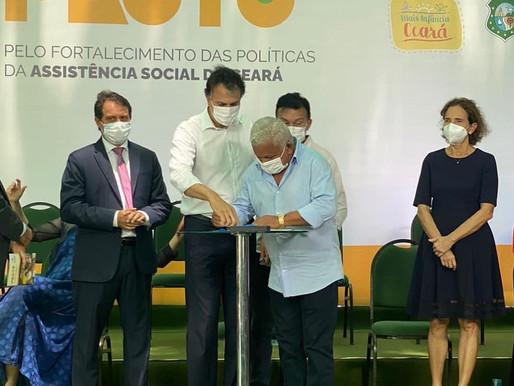 GOVERNO DO CEARÁ FIRMA PACTO COM ITATIRA PARA FORTALECER AS POLÍTICAS PÚBLICAS SOCIAIS
