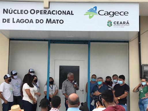 CAGECE ASSUME ABASTECIMENTO DE LAGOA DO MATO ITATIRA E DESCARTA UTILIZAR ADUTORA DE UMARI-MADALENA